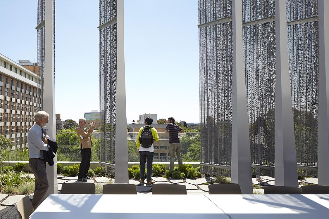 melbourne school of design roof deck