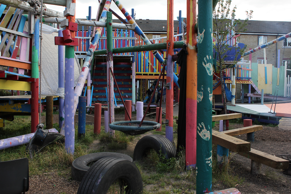 Adventure playground; London; Playground