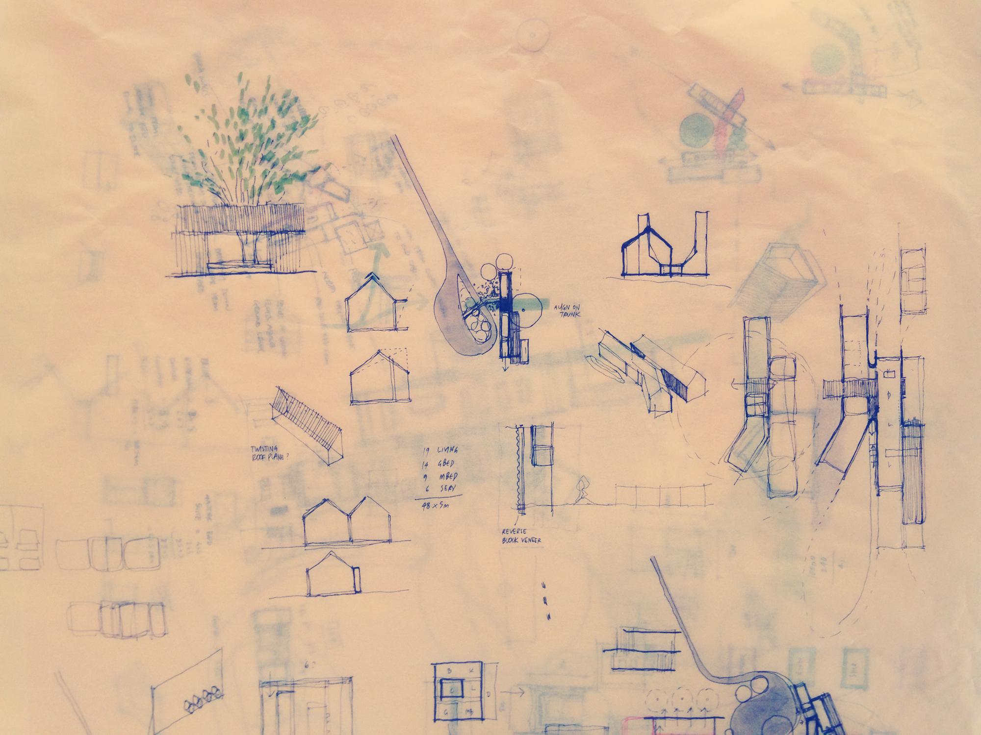 Murrindindi; Sketch; Yellow trace; Drawing; Diagram