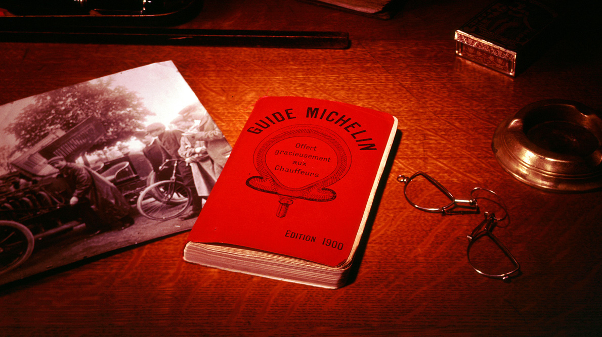 Michelin Tyre Company; Food critic; Food; Guidebook; Red book