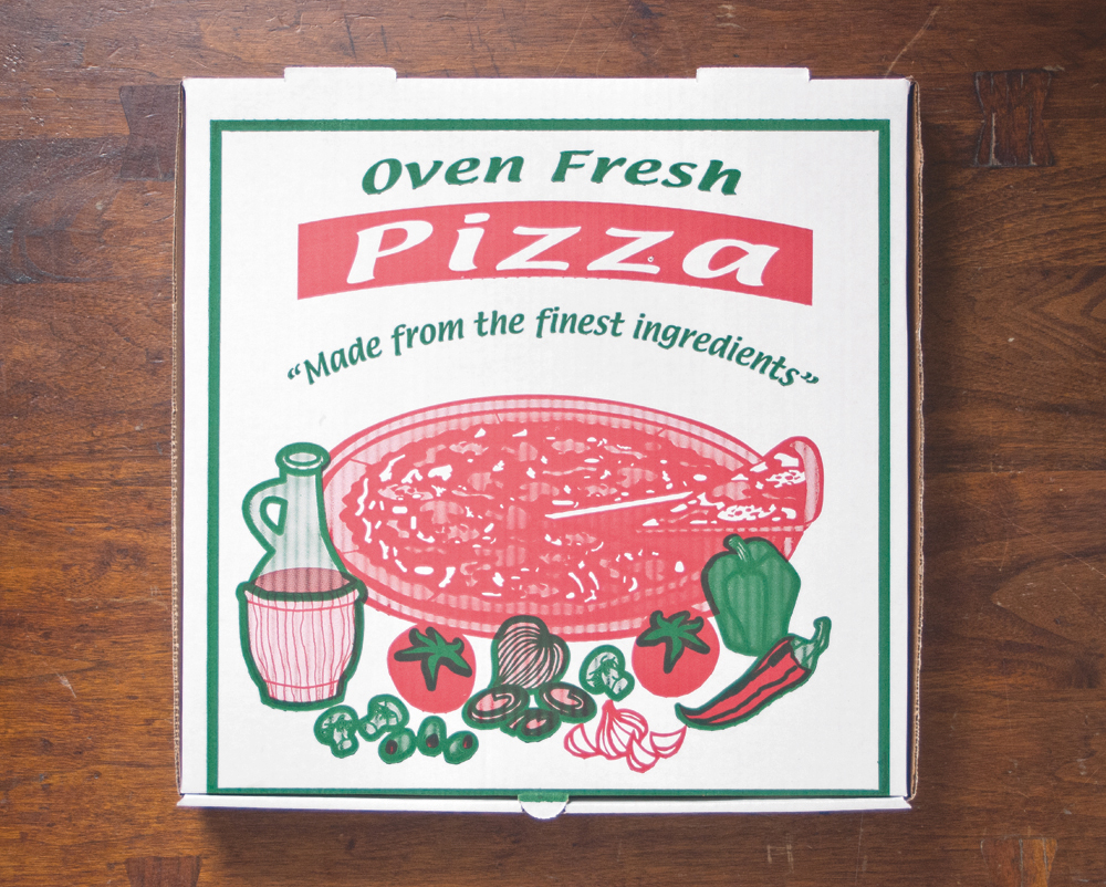 Pizza; Scott Wiener; Pizza box; Takeaway
